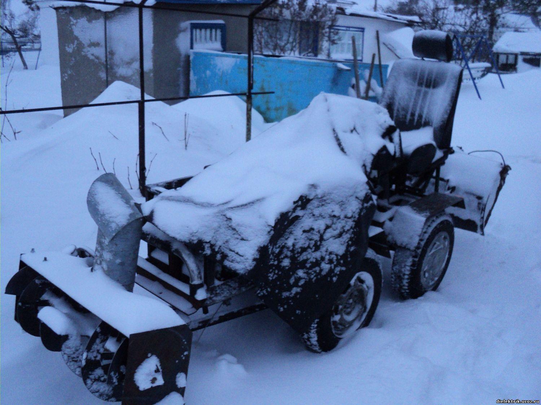 Снегоуборочные машины из бензопилы своими руками 39
