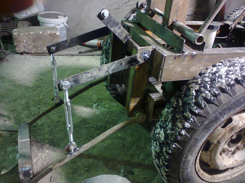 Как сделать трактор своими руками с гидравликой 14