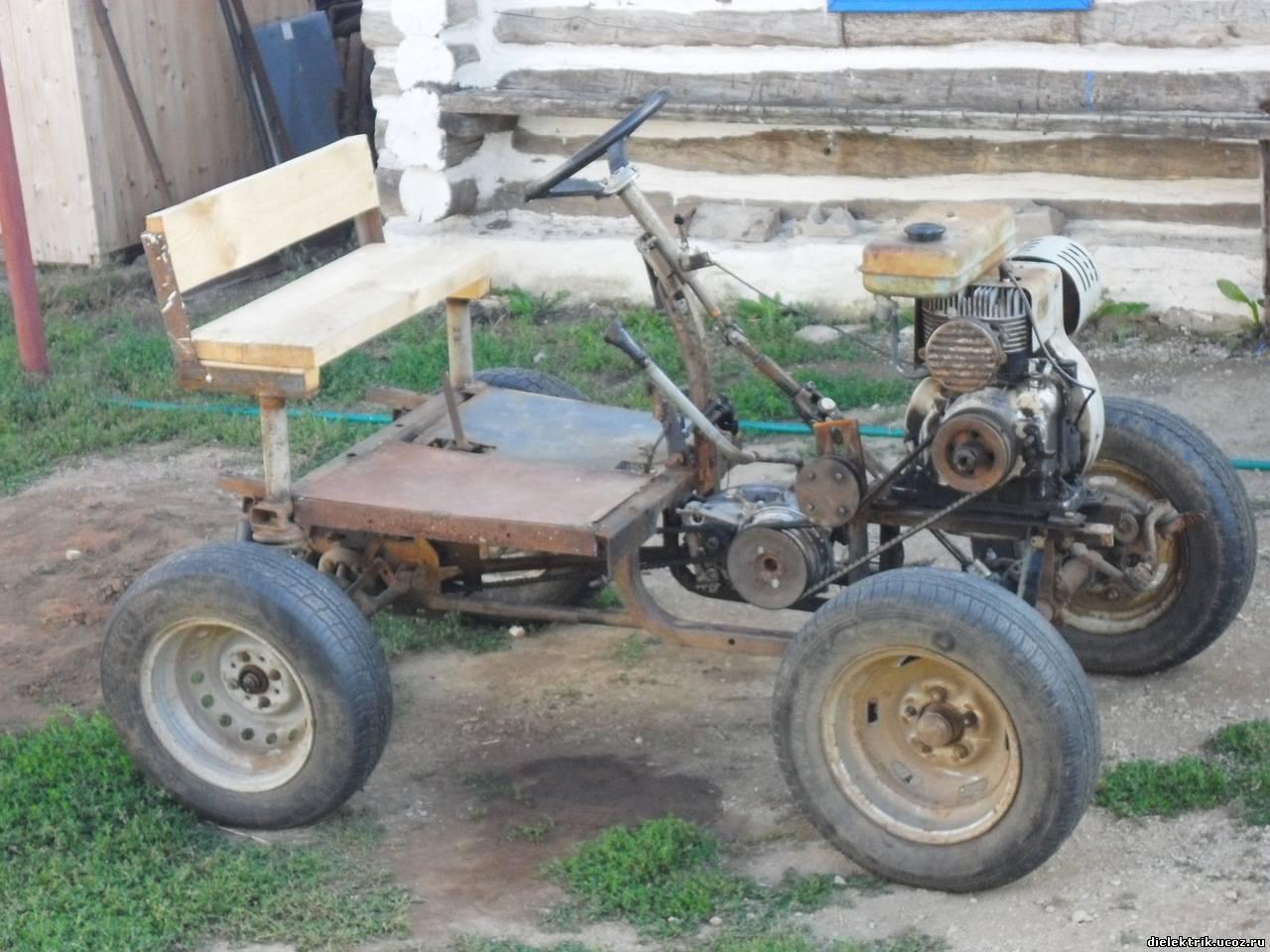 Изготовление тракторов своими руками