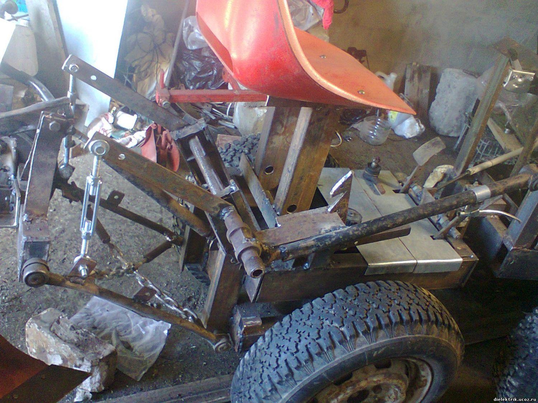 Как сделать навесное оборудование на самодельный трактор