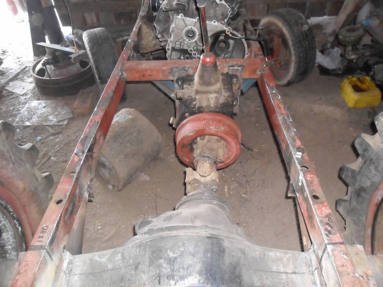Как сделать мост на самодельный трактор 327