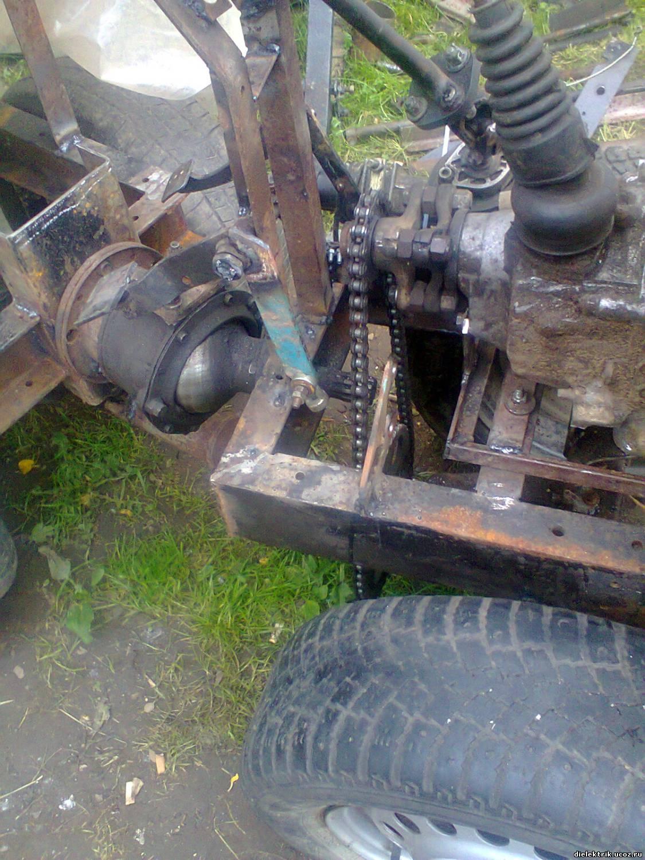 Cамодельные мини-трактора с ломающейся рамой: практические советы по сборке 65