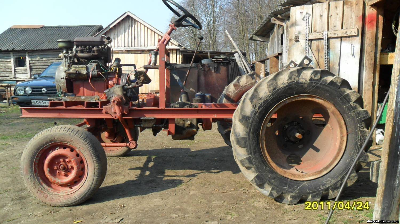 Сосет в тракторе 5 фотография